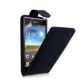 Yousave Accessories LG L7 PU Flip Black Case