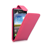 Yousave Accessories LG L7 PU Flip Hot Pink Case