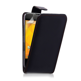 Yousave Accessories LG Nexus 4 Flip Pu Black Case