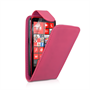 Yousave Accessories LG Optimus L9 Flip Leather Hot Pink Case