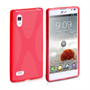 Yousave Accessories LG Optimus L9 X-Line Red Case