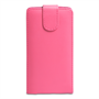 Yousave Accessories LG Optimus G Pro Leather-Effect Flip Case - Hot Pink