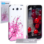 Yousave Accessories LG G Pro Floral Bee Pink Case