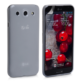Yousave Accessories LG Optimus G Pro Silicone Gel Case - Clear