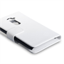 Yousave Accessories LG G2 PU Wallet White Case