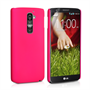 Yousave Accessories LG G2 Hybrid Hot Pink Case