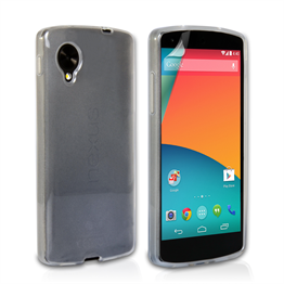 Yousave Accessories LG Nexus 5 Gel Clear Case