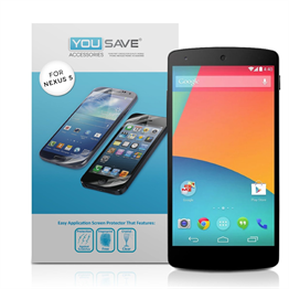 Yousave Accessories LG Nexus 5 Screen Protectors X 3 - Clear