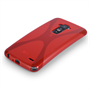 Yousave Accessories LG G Flex Silicone Gel X-Line Case - Red