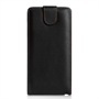 Yousave Accessories LG G Flex Leather-Effect Flip Case - Black
