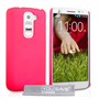 Yousave Accessories LG G2 Mini Hard Hybrid Case - Hot Pink