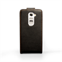 Yousave Accessories LG G2 Mini Leather-Effect Flip Case - Black