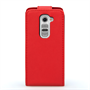 Yousave Accessories LG G2 Mini Leather-Effect Flip Case - Red