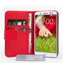 Yousave Accessories LG G2 Mini Leather-Effect Wallet Case - Red