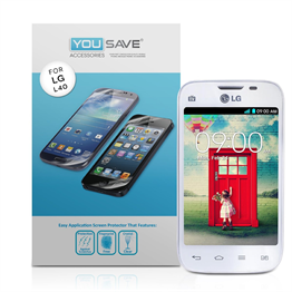 Yousave Accessories LG L40 Screen Protector ( 5 Pack ) Clear