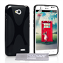 Yousave Accessories LG L70 Silicone Gel X-Line Case - Black