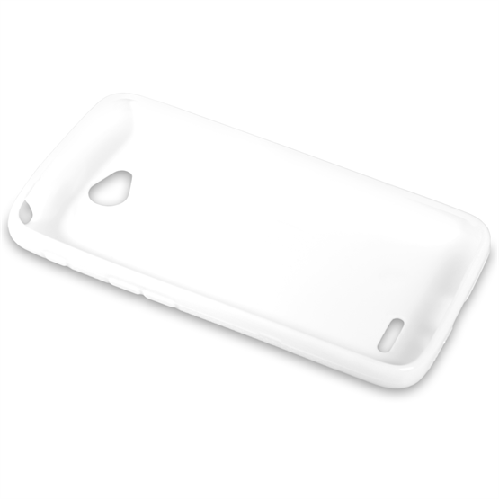 Yousave Accessories LG L70 Silicone Gel X-Line Case - White
