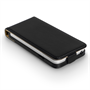 Yousave Accessories LG L70 Real Leather Flip Black Case