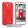 Yousave Accessories LG L90 Silicone Gel X-Line Case - Red