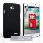 Yousave Accessories LG L90 Hard Hybrid Case - Black