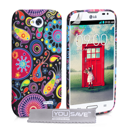 Yousave Accessories LG L90 Jellyfish Silicone Gel Case