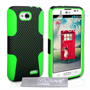 Yousave Accessories LG L90 Green Mesh Combo