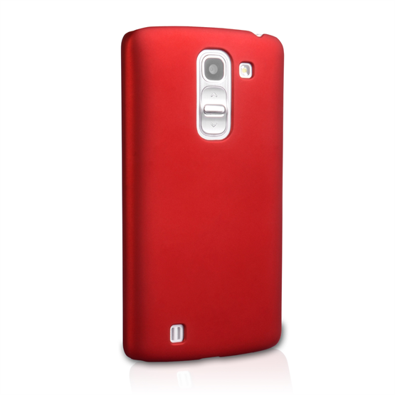 Yousave Accessories LG G Pro 2 Hard Hybrid Case - Red