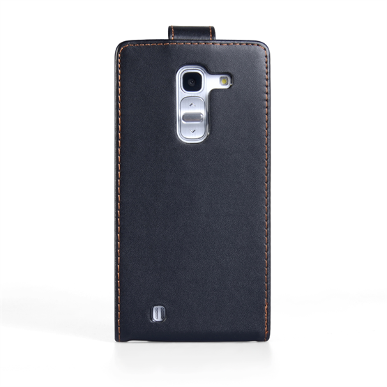 Yousave Accessories LG G Pro 2 Leather-Effect Flip Case - Black