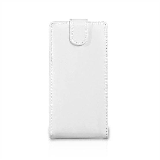 Yousave Accessories LG G Pro 2 Leather-Effect Flip Case - White