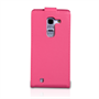 Yousave Accessories LG G Pro 2 Leather-Effect Flip Case - Hot Pink