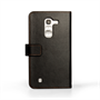Yousave Accessories LG G Pro 2 Leather-Effect Wallet Case - Black