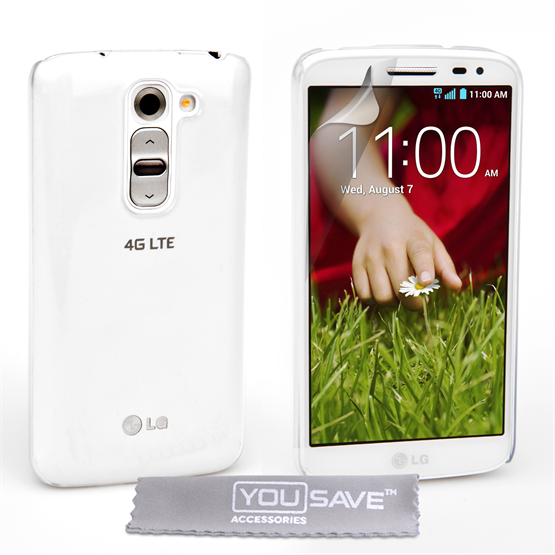 Yousave Accessories LG G2 Mini Crystal Clear Case