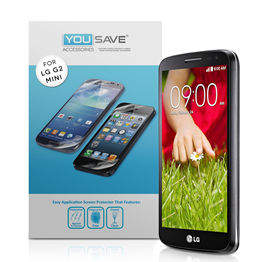 Yousave Accessories LG G2 Mini Screen Protectors X 3 Clear