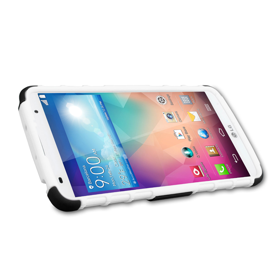 Yousave Accessories LG G Pro 2 Stand Combo White Case