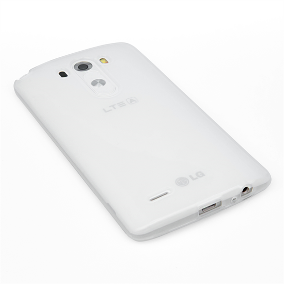Yousave Accessories LG G3 Silicone Gel Case - Clear