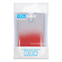 Yousave Accessories LG G3 Raindrop Hard Case - Red-Clear