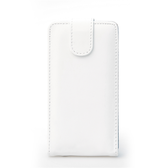 Yousave Accessories LG G3 Leather-Effect Flip Case - White