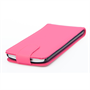 Yousave Accessories LG G3 Leather-Effect Flip Case - Hot Pink
