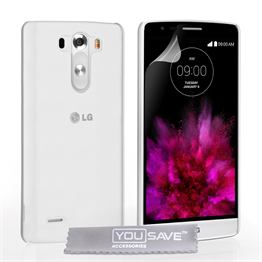 Yousave Accessories LG G4 Hard Case - Crystal Clear
