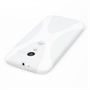 Yousave Accessories Motorola Moto X Silicone Gel X-Line Case - White