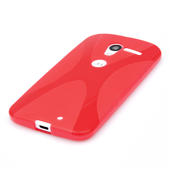 Yousave Accessories Motorola Moto X X-Line Red Case