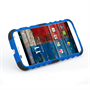 Yousave Accessories Motorola Moto X Stand Combo Blue Case