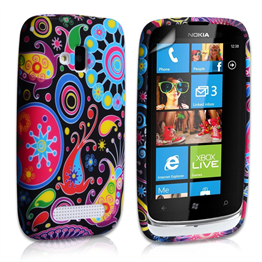 Yousave Accessories Nokia Lumia 610 Jellyfish Case