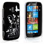 Yousave Accessories Nokia Lumia 610 Hard; Black Case