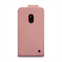 Yousave Accessories Nokia Lumia 620 PU Flip Baby Pink Case