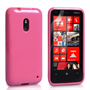 Yousave Accessories Nokia Lumia 620 Gel Pink Case