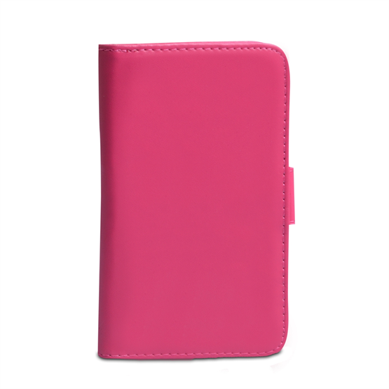 Yousave Accessories Nokia Lumia 720 PU Wallet Hot Pink Case