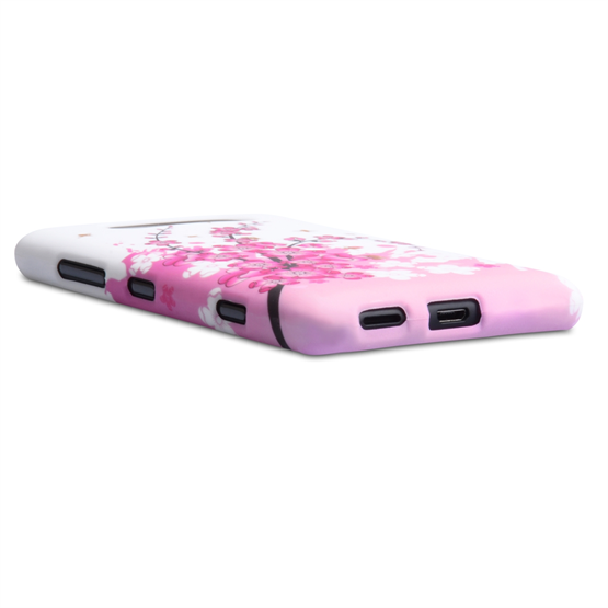 Yousave Accessories Nokia Lumia 820 Floral Bee Pink Case