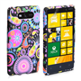 Yousave Accessories Nokia Lumia 820 Jellyfish Multicoloured Case