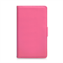 Yousave Accessories Nokia Lumia 925 Hot Pink PU Leather Wallet